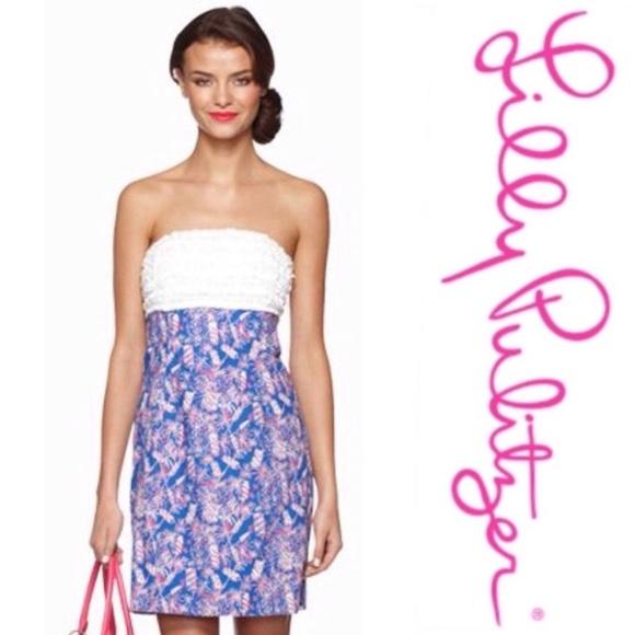 cb19fe44f3f Lilly Pulitzer Dresses   Skirts - Lilly Pulitzer Cherry Bomb Fireworks Dress